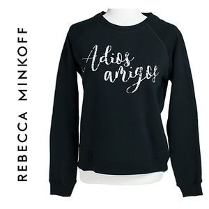 Rebecca Minkoff Black Sweatshirt